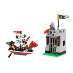 Atacul cu Barca, 111 piese si 4 figurine, Knights Castle Series 1017