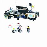 Camionul de Politie, 325 de piese si 3 figurine, Police Series 128