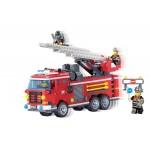 Camionul de Pompieri, 364 de piese si 4 figurine, Fire Rescue 904