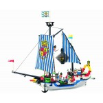 Corabia Regala, 310 piese si 6 figurine, Pirates Series 305