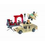 Hummer-ul Armatei, 323 de piese si 5 figurine, Combat Zones 817
