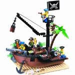 Epava Piratilor, 178 de piese si 5 figurine, Pirates Series 306