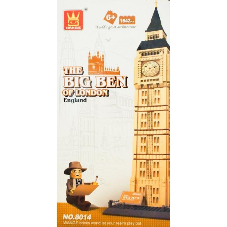 The Big Ben of London, 1642 de piese, Wange Architecture 8014