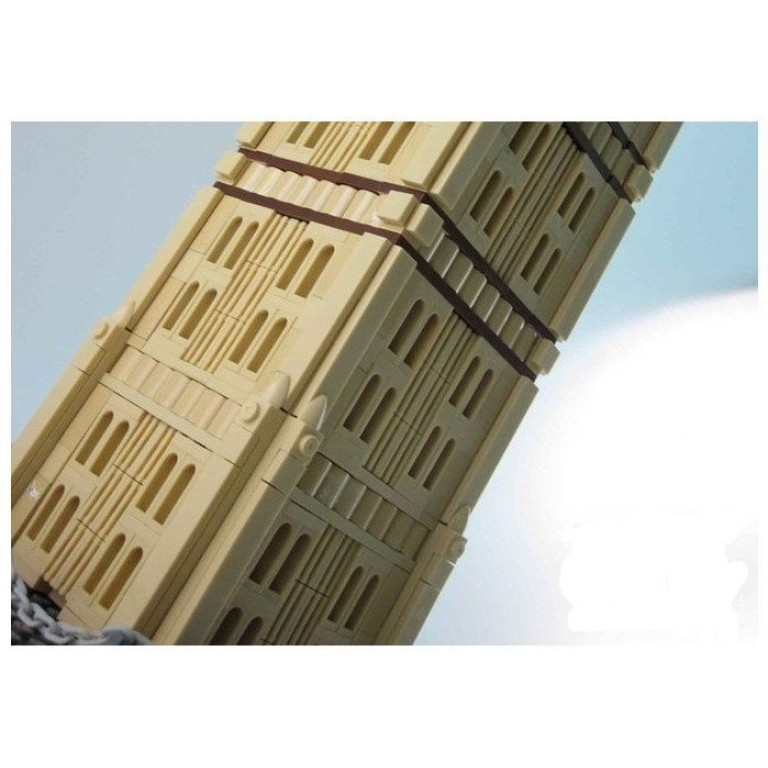 The Big Ben of London, 1642 de piese, Wange Architecture 8014