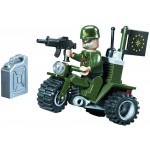 ATV-ul Soldatului, 24 de piese si 1 figurina, Combat Zones 802