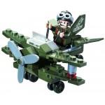 Avionul de Recunoastere, 50 de piese si 1 figurina, Combat Zones 804