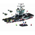 Portavionul, 508 piese si 2 figurine, Combat Zones 826