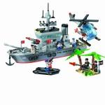 Fregata, 614 piese si 7 figurine, Combat Zones 820