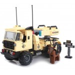Lansatorul de Rachete, 310 piese si 2 figurine, Combat Zones 822