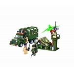 Camionul cu Soldati, 308 piese si 7 figurine, Combat Zones 811