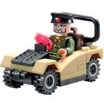 Masina Generalului, 33 de piese si 1 figurina, Combat Zones 824