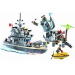 Atacul de pe Insula, 505 piese si 7 figurine, Combat Zones 819