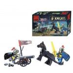 Atac cu Tunul, 42 de piese si 2 figurine, Knights Castle Series 1012