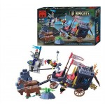 Transportul Regelui Prizonier, 160 de piese si 4 figurine, Knights Castle Series 1018