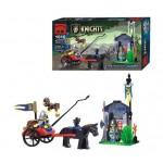 Santinela Cavalerilor Leu, 84 de piese si 3 figurine, Knights Castle Series 1016