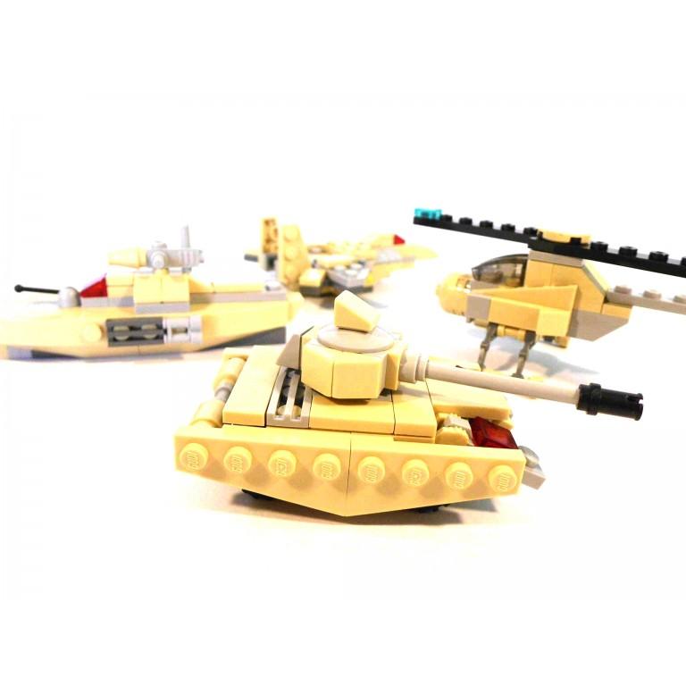 Abramson Battleship 8:1, 359 piese, GUDI Blocks 8004 A-H