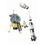 Misiune de cercetare pe Luna, 229 de piese si 1 figurina, Space Series 511