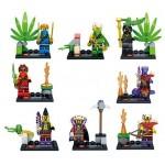 Figurine Ninja Jay Kai Cole Lloyd, SY272