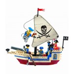 Corabia Perla, 188 de piese si 4 figurine, Pirates Series 304