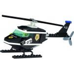 Elicopterul de Supraveghere, 76 de piese si 1 figurina, Police Series 123