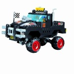 Monster Truck, 230 piese si 2 figurine, Racers Series 405