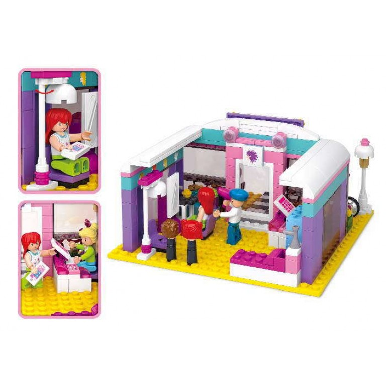 Beauty Salon, 242 piese si 3 figurine, Sluban B0526