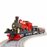 Locomotiva cu abur, 410 piese si 1 figurina, Ausini 25705