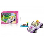 Summer Roadster, 85 piese si 1 figurina, Xipoo 96013